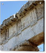 Segesta Greek Temple In Sicily, Italy Acrylic Print