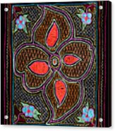 Shipibo Art Acrylic Print