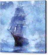 Ships Ahoy Acrylic Print