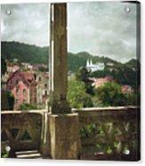 Sintra Landscape Acrylic Print