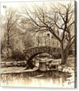 South Bridge - Central Park Acrylic Print