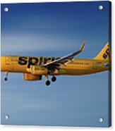 Spirit Airlines Airbus A320-232 Acrylic Print