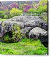 Spring At Devils Den Acrylic Print