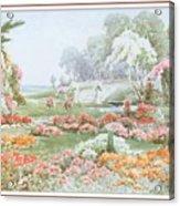 Stannardhenryjohnsylvester Asummersafternoon-we F074 Henry  Sylvester Stannard Acrylic Print