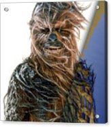 Star Wars Chewbacca Collection Acrylic Print