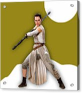 star Wars Rey Collection Acrylic Print