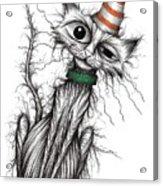 Stinker The Cat Acrylic Print
