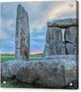 Stonehenge - England Acrylic Print
