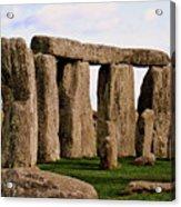 Stonehenge England United Kingdom Uk Acrylic Print