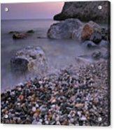 Stones Acrylic Print