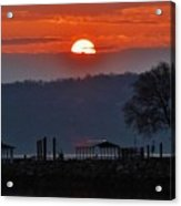 Stony Point Sunrise Acrylic Print