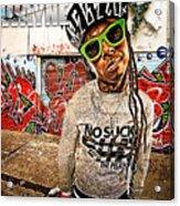 Street Phenomenon Lil Wayne Acrylic Print by The DigArtisT