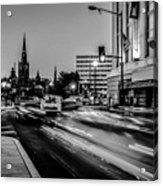 Streets Of Washington Dc Usa Acrylic Print