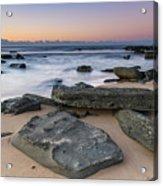 Sunrise And The Sea Acrylic Print