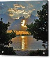 3- Sunrise Cruise Acrylic Print