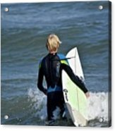 Surfs Up Acrylic Print