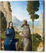 Temptation Of Christ Acrylic Print