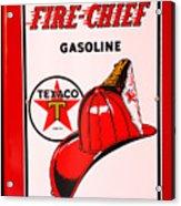 Texaco Gas Pump Acrylic Print