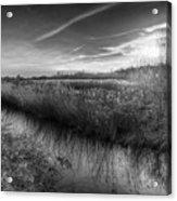 The Ambling River Acrylic Print