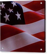 The American Flag Acrylic Print