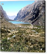 The Andes Acrylic Print