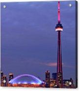 The City Of Toronto Acrylic Print