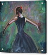 The Dancer Acrylic Print