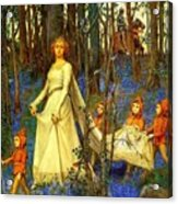 The Fairy Wood Henry Meynell Rheam Acrylic Print