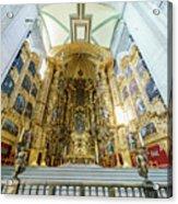 The Historical Mexico City Metropolitan Cathedral Acrylic Print