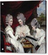 The Ladies Waldegrave Acrylic Print