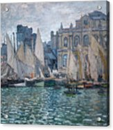 The Museum At Le Havre Acrylic Print