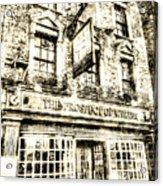 The Prospect Of Whitby Pub London Vintage Acrylic Print