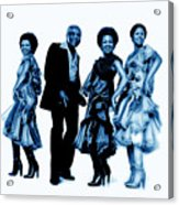 The Staple Singers Collection Acrylic Print