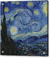The Starry Night Acrylic Print