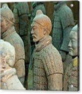 The Terracotta Army Acrylic Print