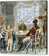 Thomas Gage, 1721-1787 Acrylic Print