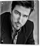 Tom Cruise Collection Acrylic Print