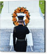 Tomb Of The Unknown Soldier Acrylic Print by John Greim