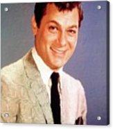 Tony Curtis Vintage Hollywood Actor Acrylic Print