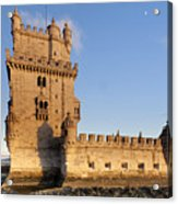 Tower Of Belem Acrylic Print