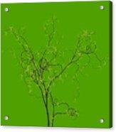 Trees Of Life Acrylic Print by Charles Dobbs