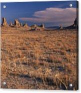 Trona Pinnacles Acrylic Print