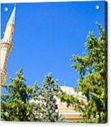 Turkish Mosque Acrylic Print