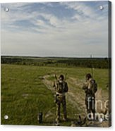 U.s. Air Force Combat Controllers Acrylic Print
