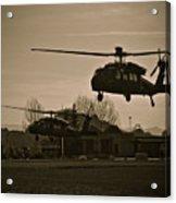Us Army Blackhawks Acrylic Print