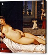 Venus Of Urbino Acrylic Print