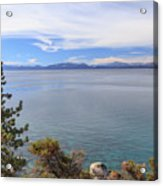 View Across Lake Tahoe Acrylic Print
