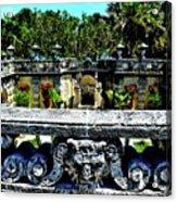 Vizcaya Museum And Gardens Acrylic Print