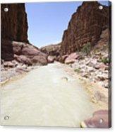 Wadi Zered Western Jordan Acrylic Print