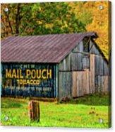 West Virginia Barn Acrylic Print
